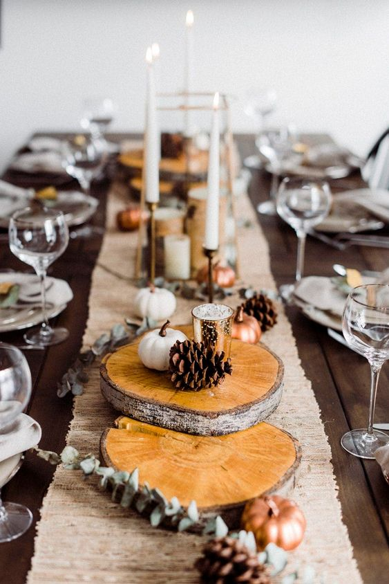 Pinterests Best Chic Thanksgiving Tablescapes ...