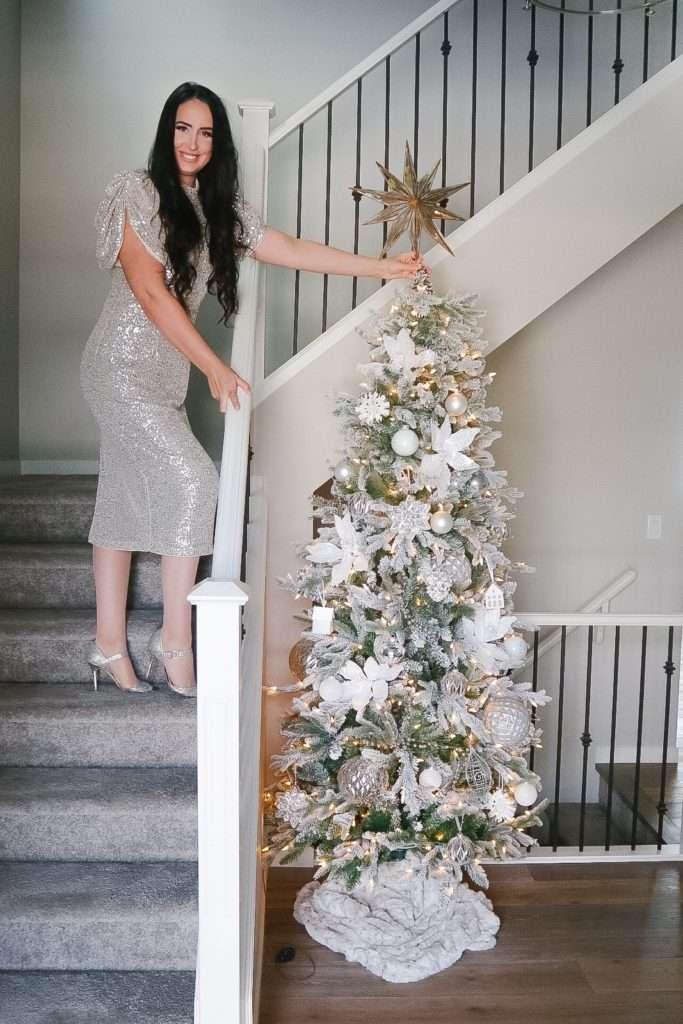 Elegant Neutral Christmas Home Tour 2020 Classically Cait